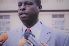 Hon. Gasutwa Bonaventure: Commissaire Chargé de la Communication et des Relations Publiques